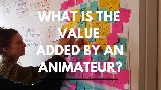 What is the value added by an animateur?