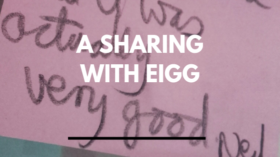 A Sharing with Eigg